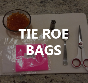 How to Tie Roe Bags