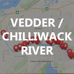 Vedder / Chilliwack River – Fishing Locations