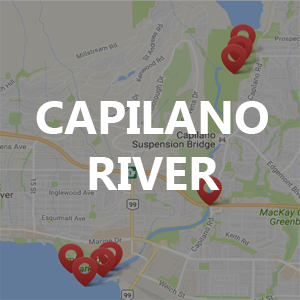 Capilano River – Fishing Locations
