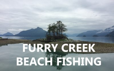 Pink Salmon Beach Fishing at Furry Creek
