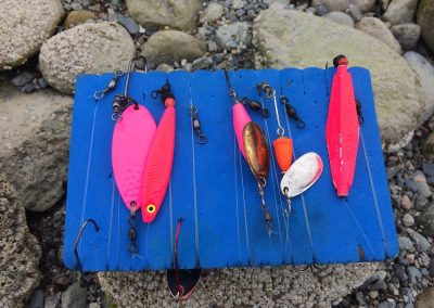 Pink Salmon Beach Lures