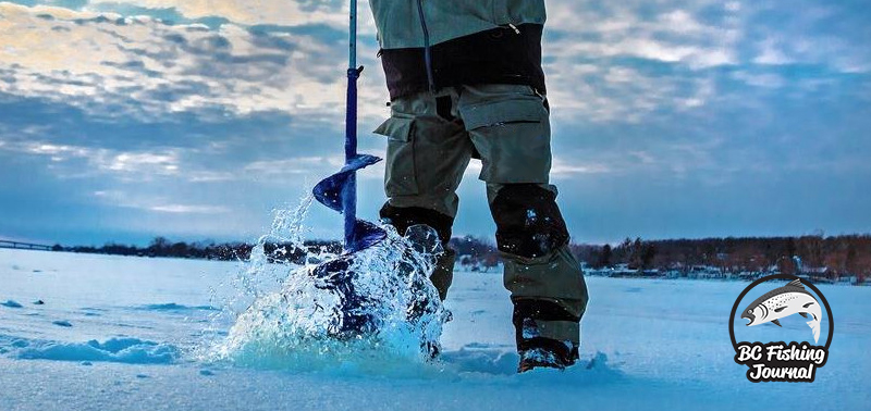 Best Ice Auger - BC Fishing Journal